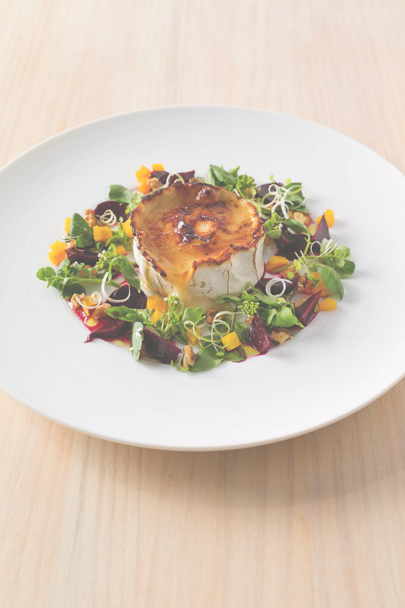 Goat's cheese brûlée salad (For 2 to share) | Anna Gare Official Website