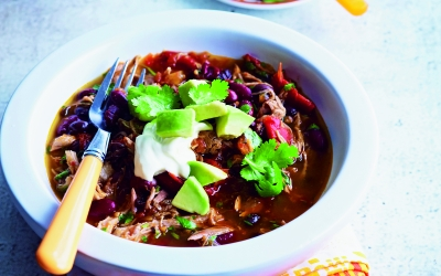 Mexican Pulled-Pork Shoulder