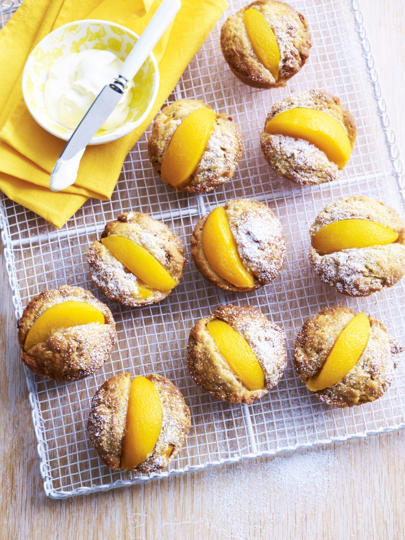 Peach, Banana and Coconut Muffins | Anna Gare Official Website